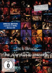 Cover Jack Bruce - Rockpalast - The 50th Birthday Concerts [DVD]